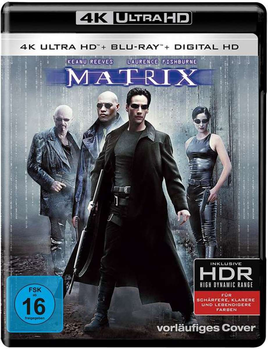 Matrix (Ultra HD Blu-ray & Blu-ray)-
