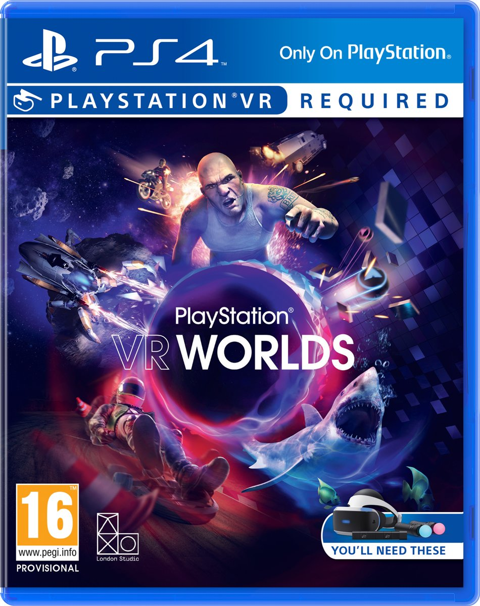 Worlds -  VR PlayStation 4