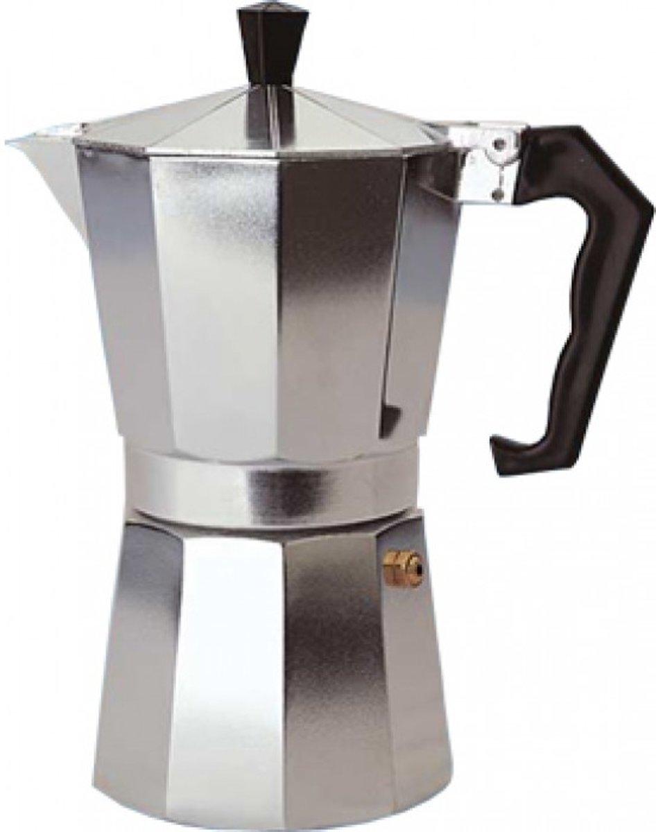SCANPART Espressomaker 6 Kops Zilver kopen
