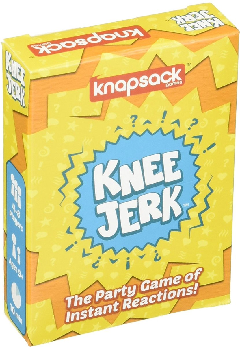 Knee Jerk The Party Game of Instant Reactions