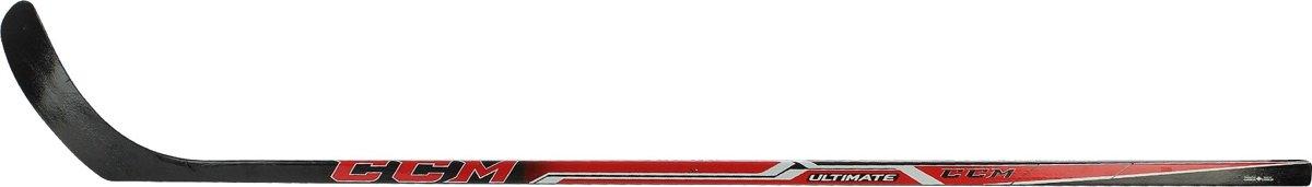 CCM IJshockeystick ULTIMATE Zwart/Wit/Rood 145cm Rechts