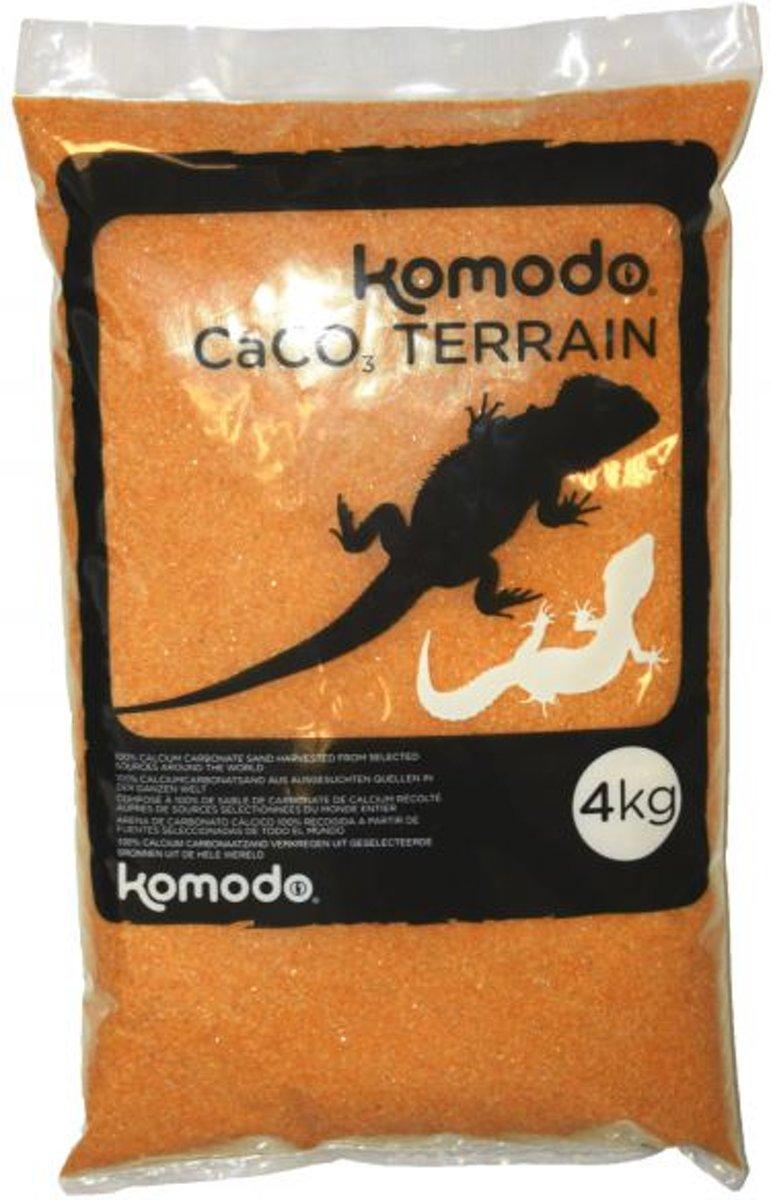 Komodo Caco Zand - Terracotta - 4 kg