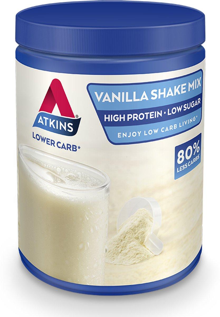 Foto van Atkins Advantage Vanille Mix - 370 gram - Maaltijdshake