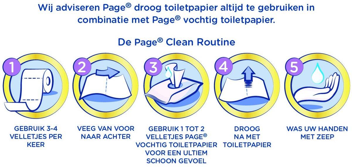 Page Vochtig Toiletpapier.Bol Com Page Fresh Vochtig Wc Papier Maxipack 6 X 84 Stuks