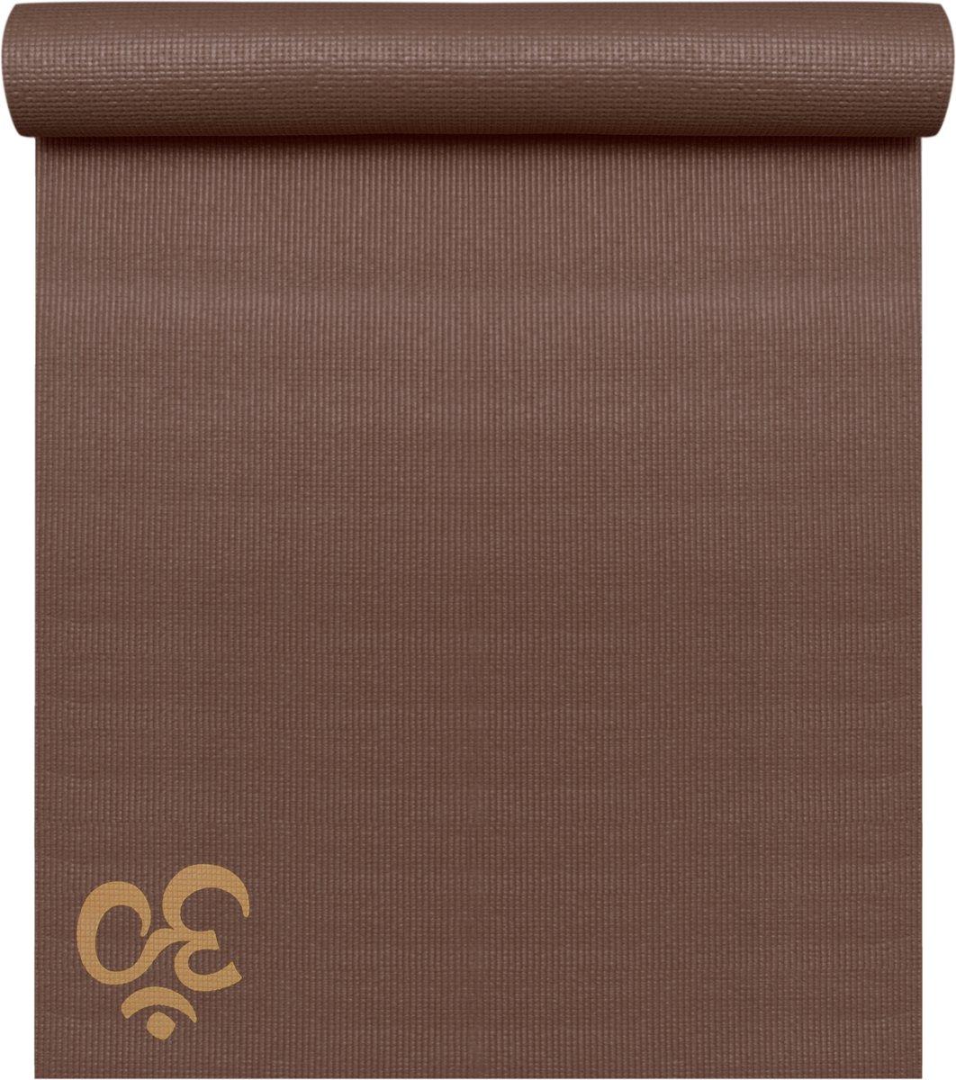 Yogamat basic OM choco brown Fitnessmat YOGISTAR