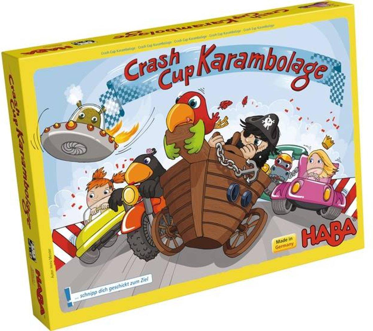 Haba Bordspel Spelletjes vanaf 6 jaar Crash up Karambolage