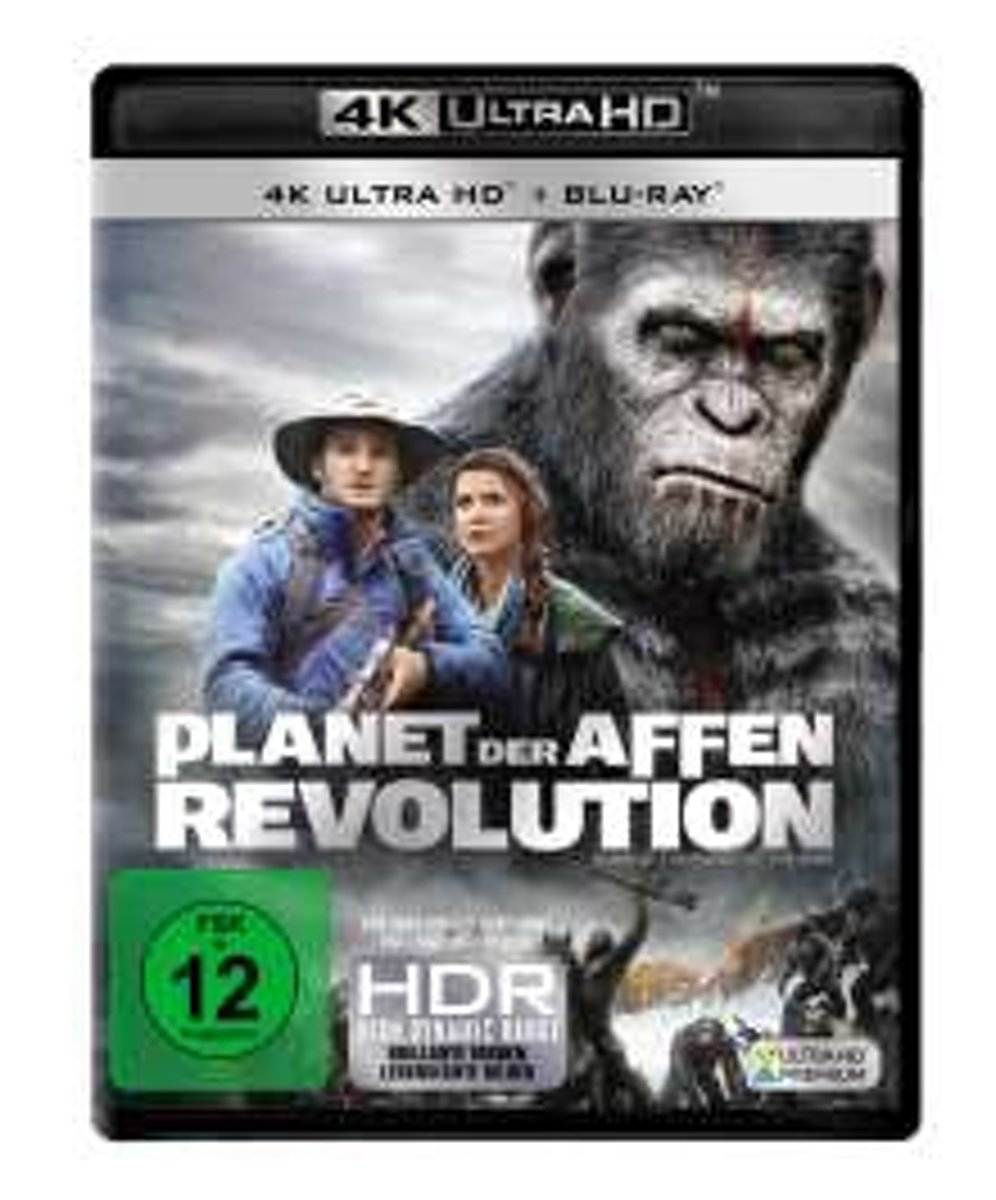 Dawn of the Planet of the Apes (2014) (Ultra HD Blu-ray & Blu-ray)-