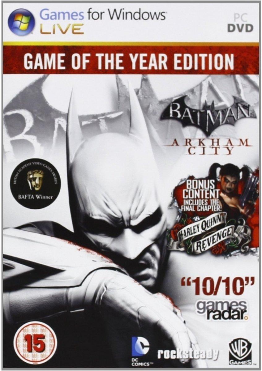 Batman: Arkham City - Game of the Year Edition (BBFC) /PC - Windows kopen