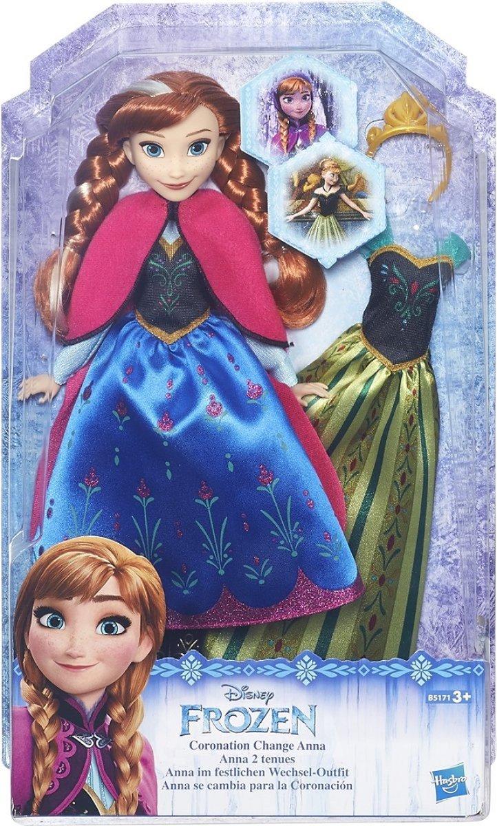 Pop Frozen Anna met outfits
