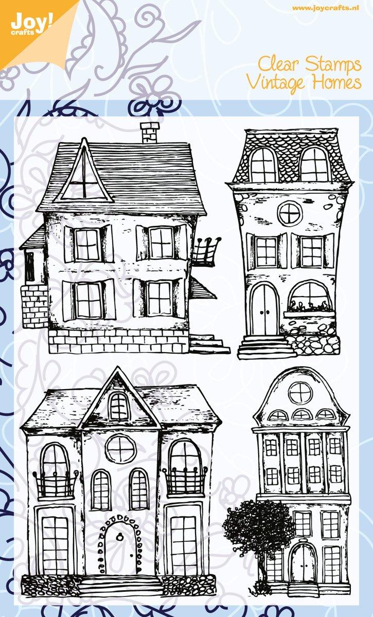 Joycrafts stempel: Clear Stamps Vintage Homes 6410/0395