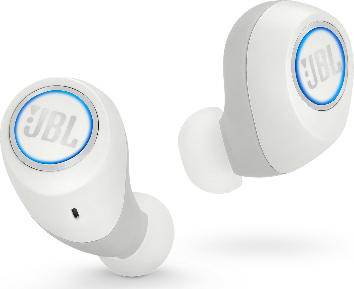 JBL Free - Wit - True wireless in-ear oordopjes kopen