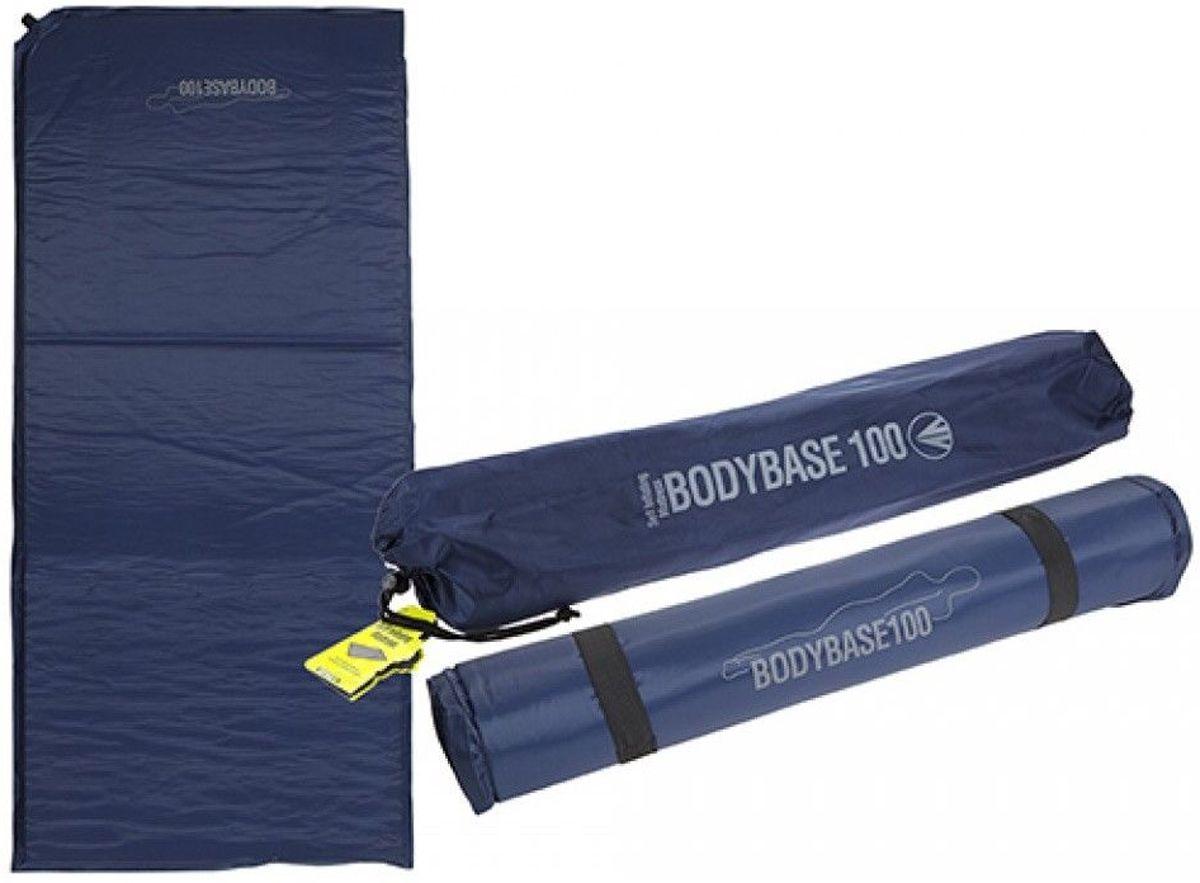 Summit - Slaapmat zelfopblazend - Luchtbed - Camping matras - 120 x 50 x 3 CM - Blauw kopen