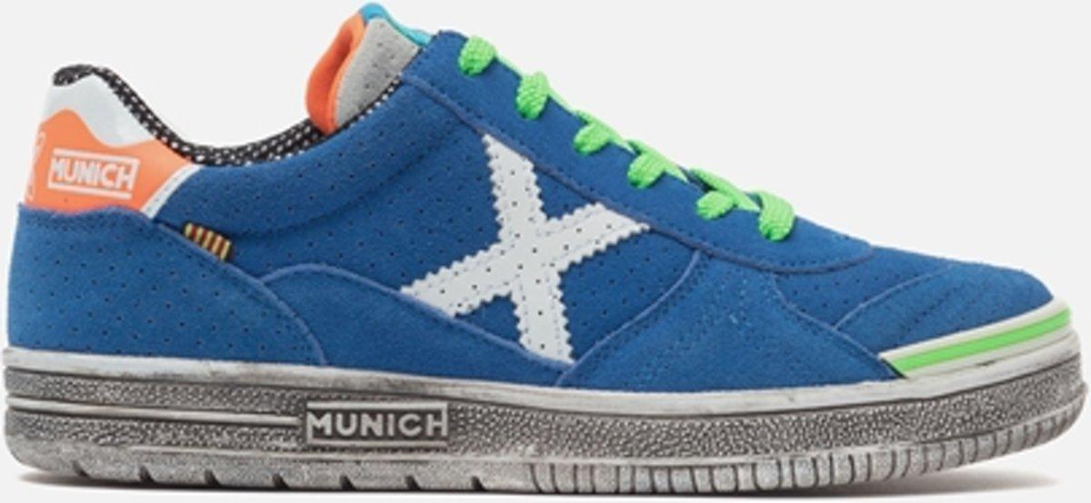 Munich G-3 Chaussures De Sport D'enfant Junior Chaussures De Sport - Taille 37 - Mixte - Bleu / Vert skxIpqonrk
