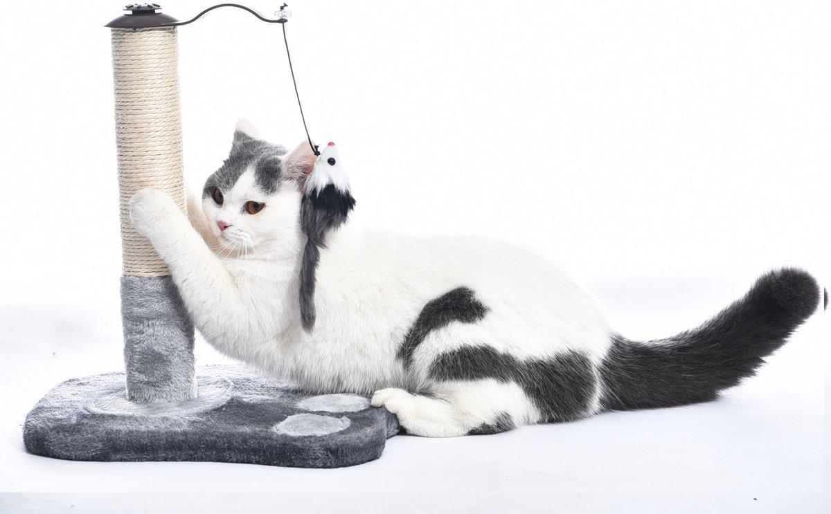 IMPAQT Katten Kitten krabpaal met muis