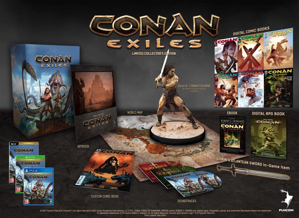 Conan Exiles Collector's Edition PlayStation 4