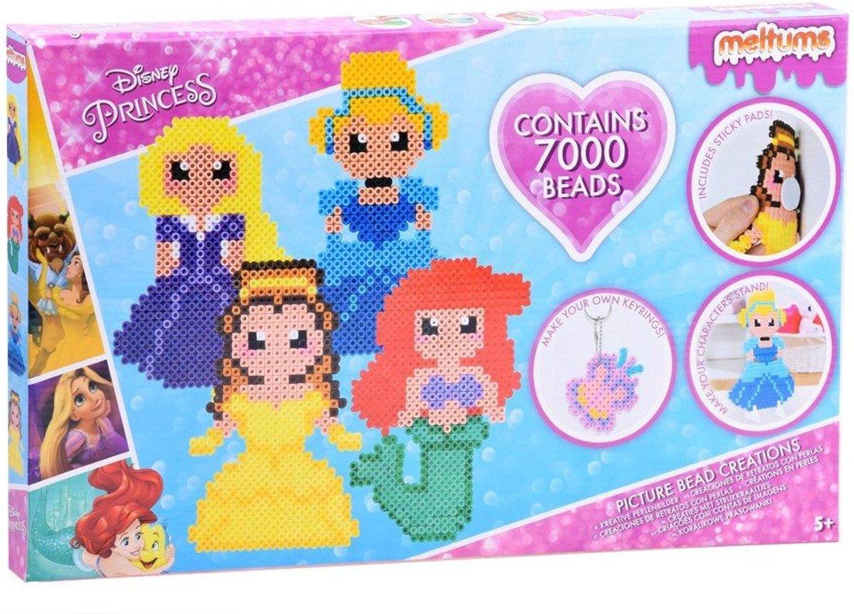 Meltums Disney Princess strijkkralen set 7000 kralen en accessoires kopen