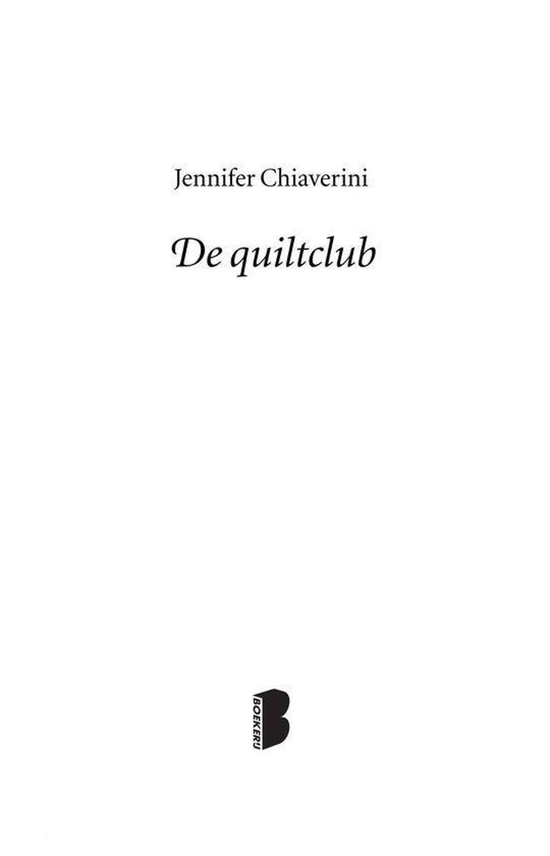 De Bruidsquilt Jennifer Chiaverini.Bol Com De Quiltclub Ebook Jennifer Chiaverini 9789460236778