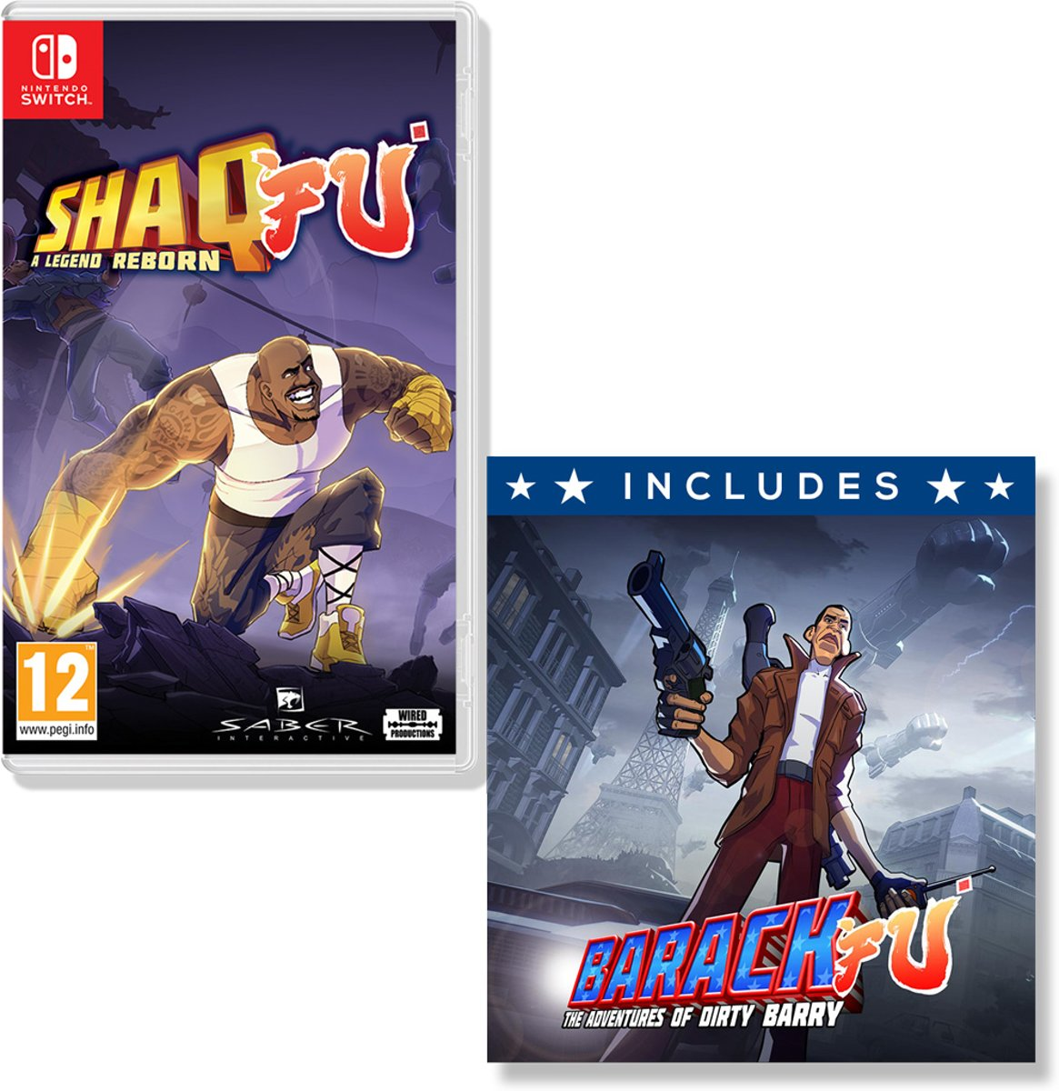 Shaq Fu - A Legend Reborn Switch