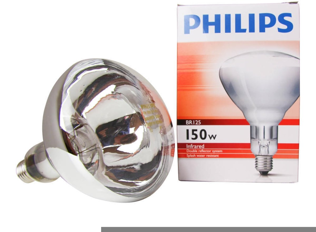 Philips Warmtelamp - 150w - Wit