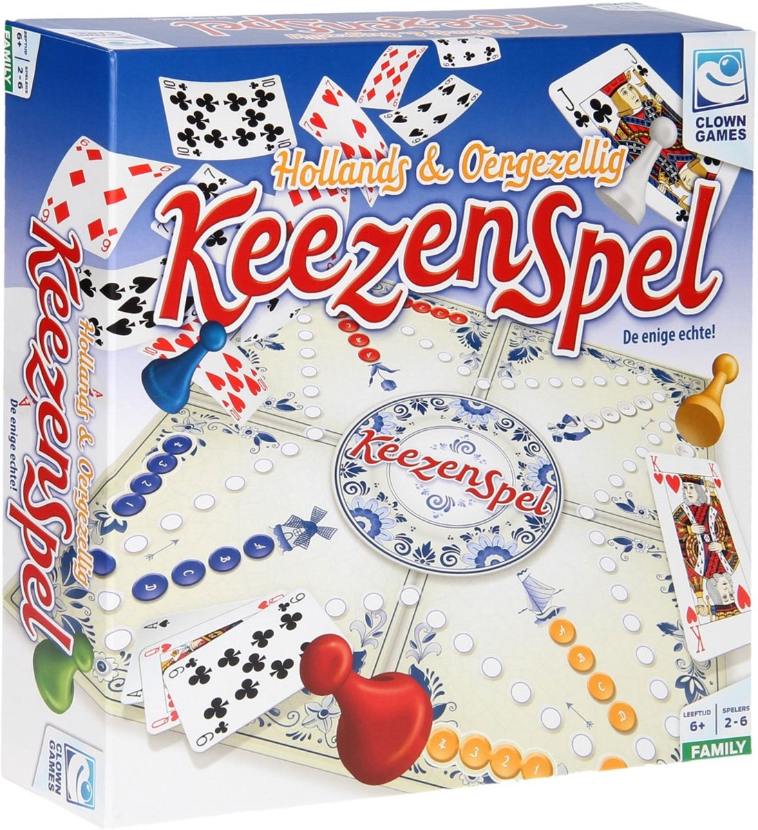 Clown Keezenspel - Bordspel