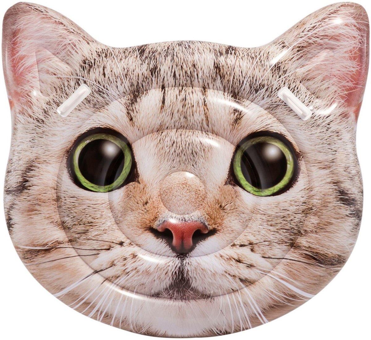 Intex Opblaasbare Kattengezicht 147 cm - Luchtbed