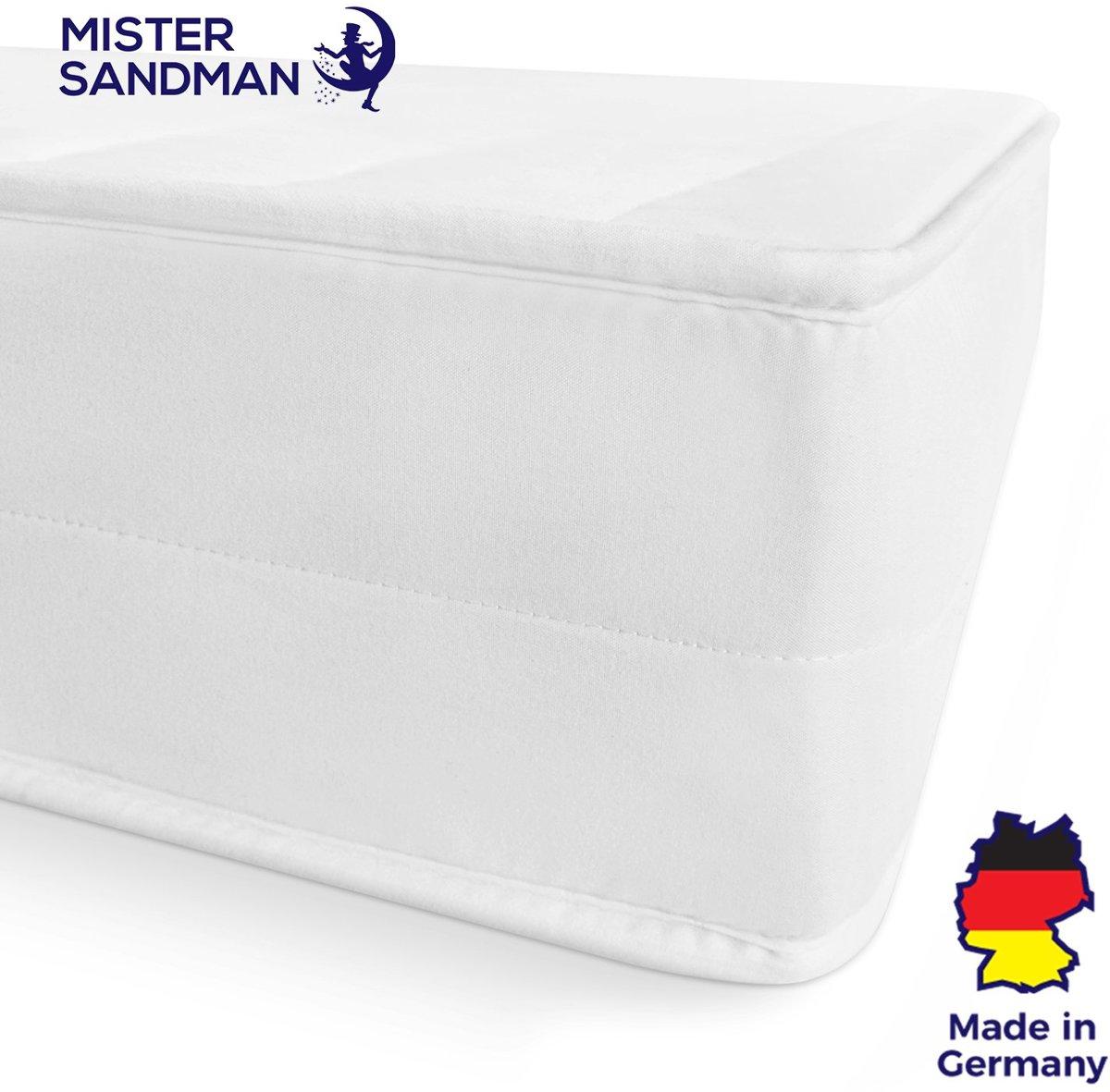 Matras - 90x190 - 7 zones - koudschuim - microvezel tijk - 15 cm hoog