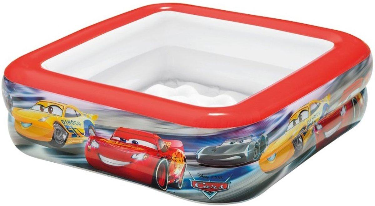 Intex Kinderzwembad Cars Rood 85 X 85 X 23 Cm