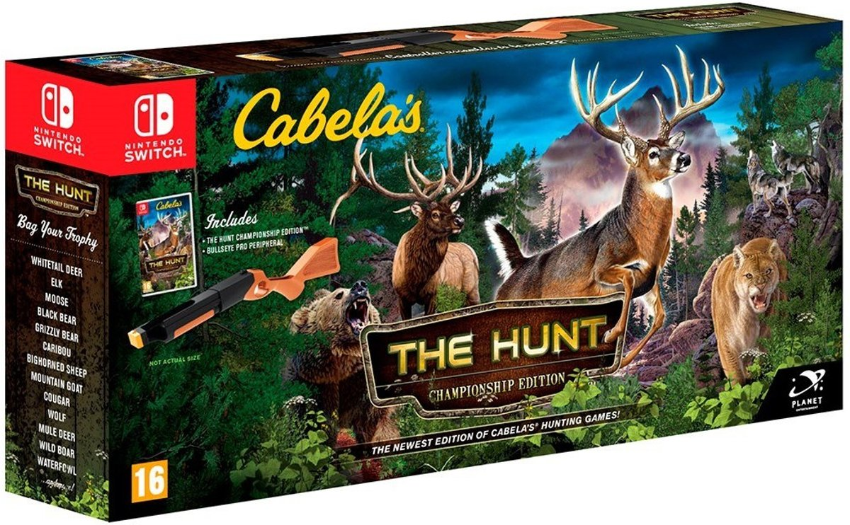 Cabela's The Hunt + Jachtgeweer accessoire Switch