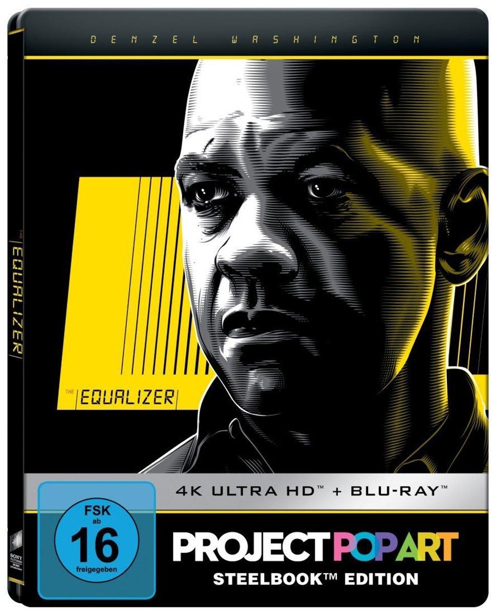 The Equalizer (Ultra HD Blu-ray & Blu-ray in Steelbook)-