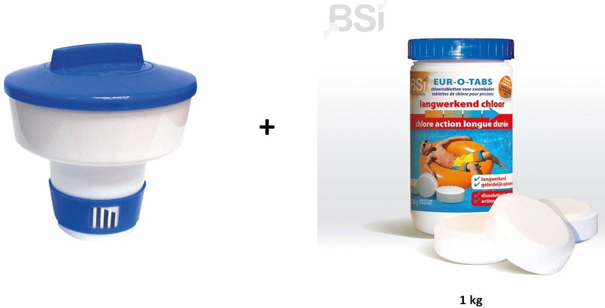 Vlotter + langwerkende chloortabletten 1 kg