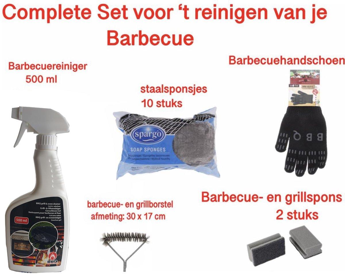 barbecue schoonmaken - barbecue borstel - barbecue sponge - barbecue staalsponsjes - BBQ borstel - BBQ schoonmaken - BBQ accessoire - BBQ rooster schoonmaken kopen