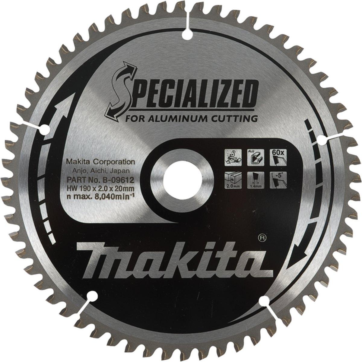 Makita B-09737 Zaagblad alu 350 millimeter MAK-B-09737