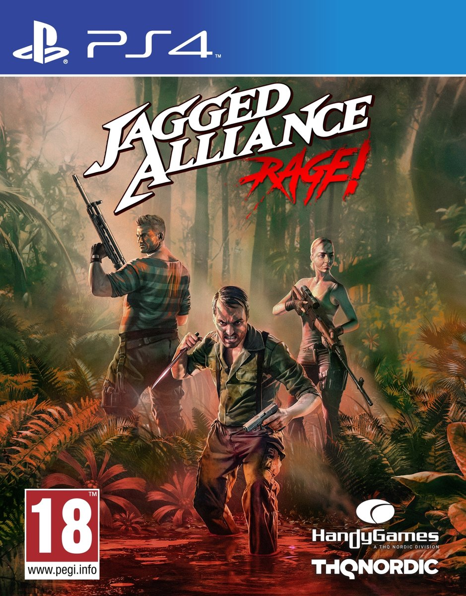 Jagged Alliance: Rage! PlayStation 4
