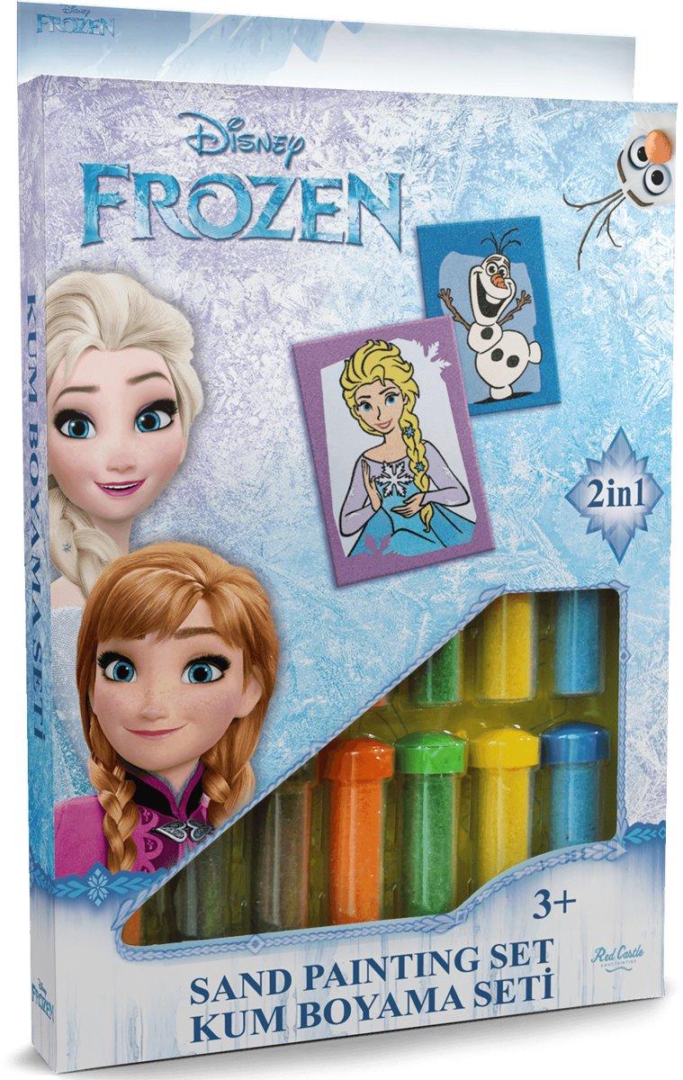Disney Frozen - Elsa & Olaf ? 2in1 Sand Painting Art Set kopen