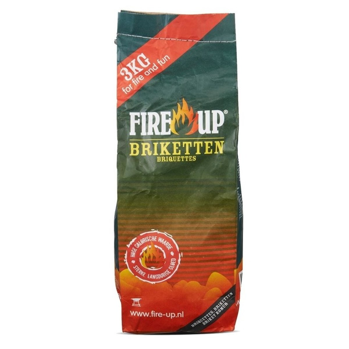 Fire-up Barbequeaccessoire Houtskool briketten kopen