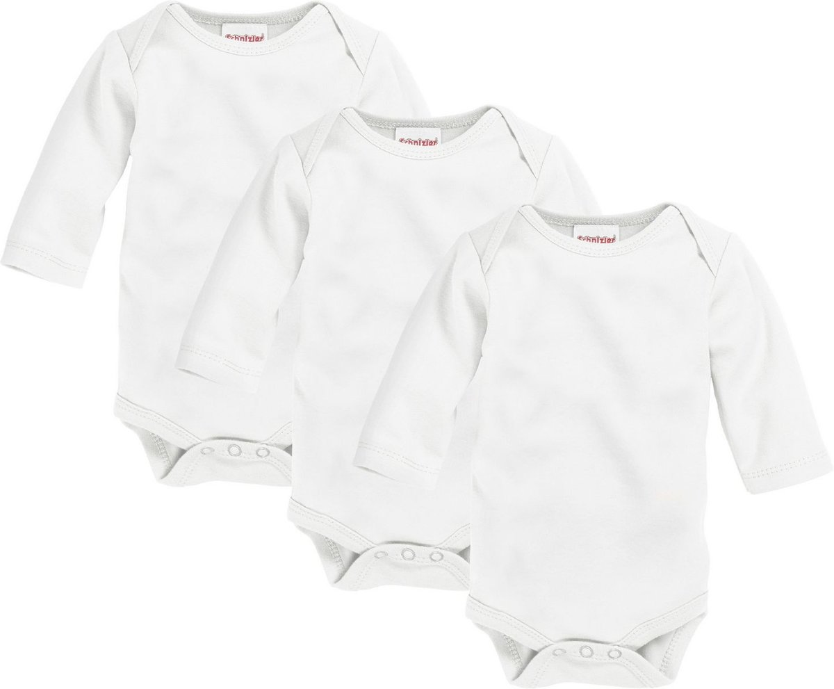 Playshoes Baby-Unisex 1//4-Arm kleine Alarmanlage Body Natur 50//56