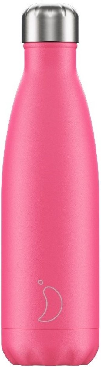 Chilly's Bottle Drink- & Thermosfles Neon Roze kopen