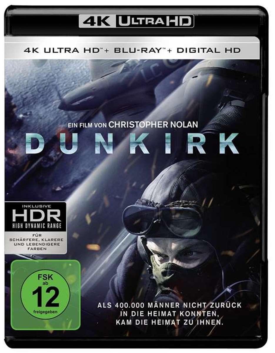 Dunkirk (2017) (Ultra HD Blu-ray & Blu-ray)-