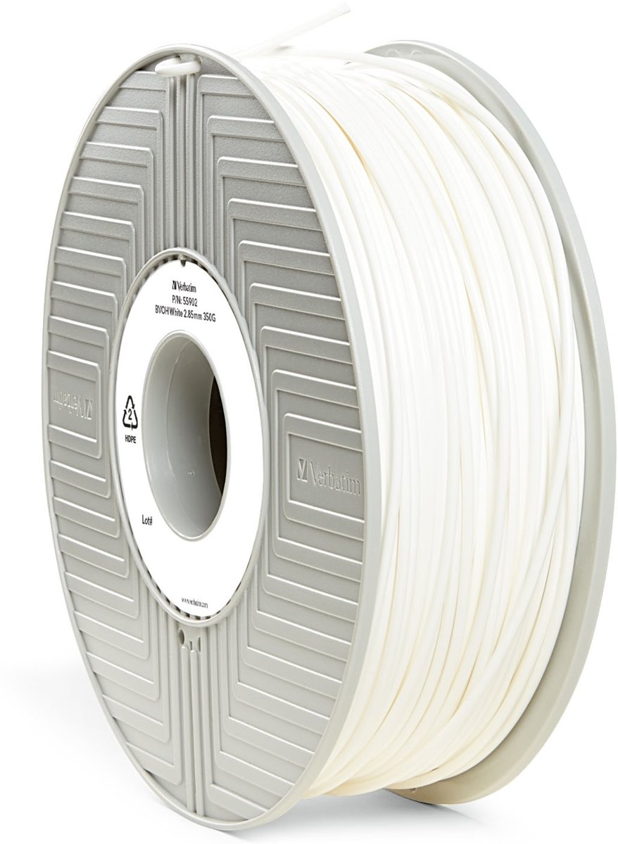 Verbatim 55902 3D Printer Filament BVOH 2.85mm 500g Wit