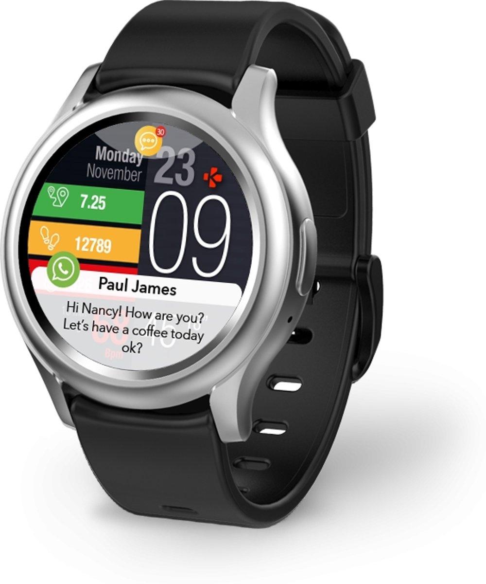 MyKronoz smartwatch Zeround 3 - zilver/zwart kopen