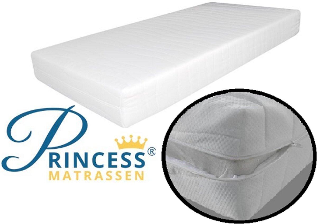 Comfort HR40 Kindermatras -70x150x14-cm- Anti-allergische wasbare hoes met rits.