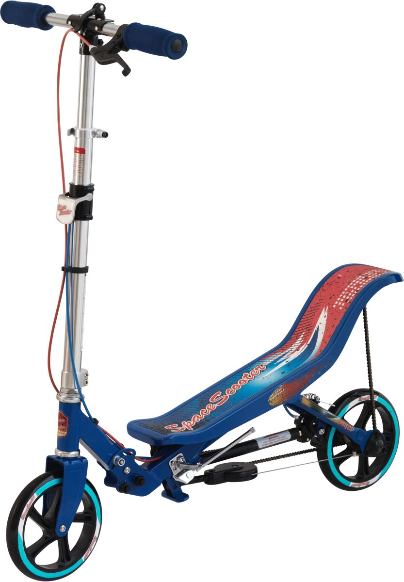 Space Scooter Step Blauw