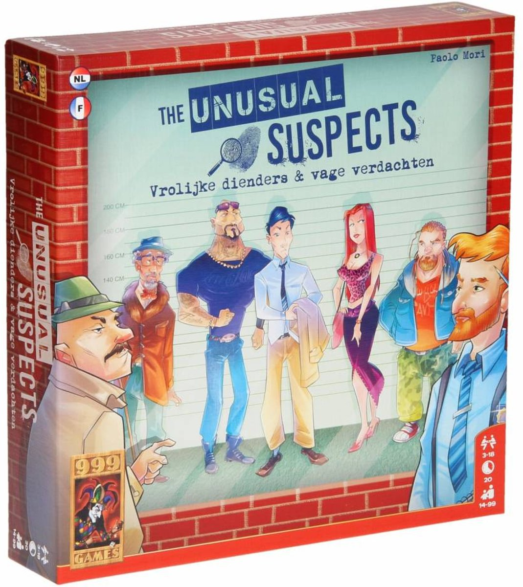 The Unusual Suspects Bordspel