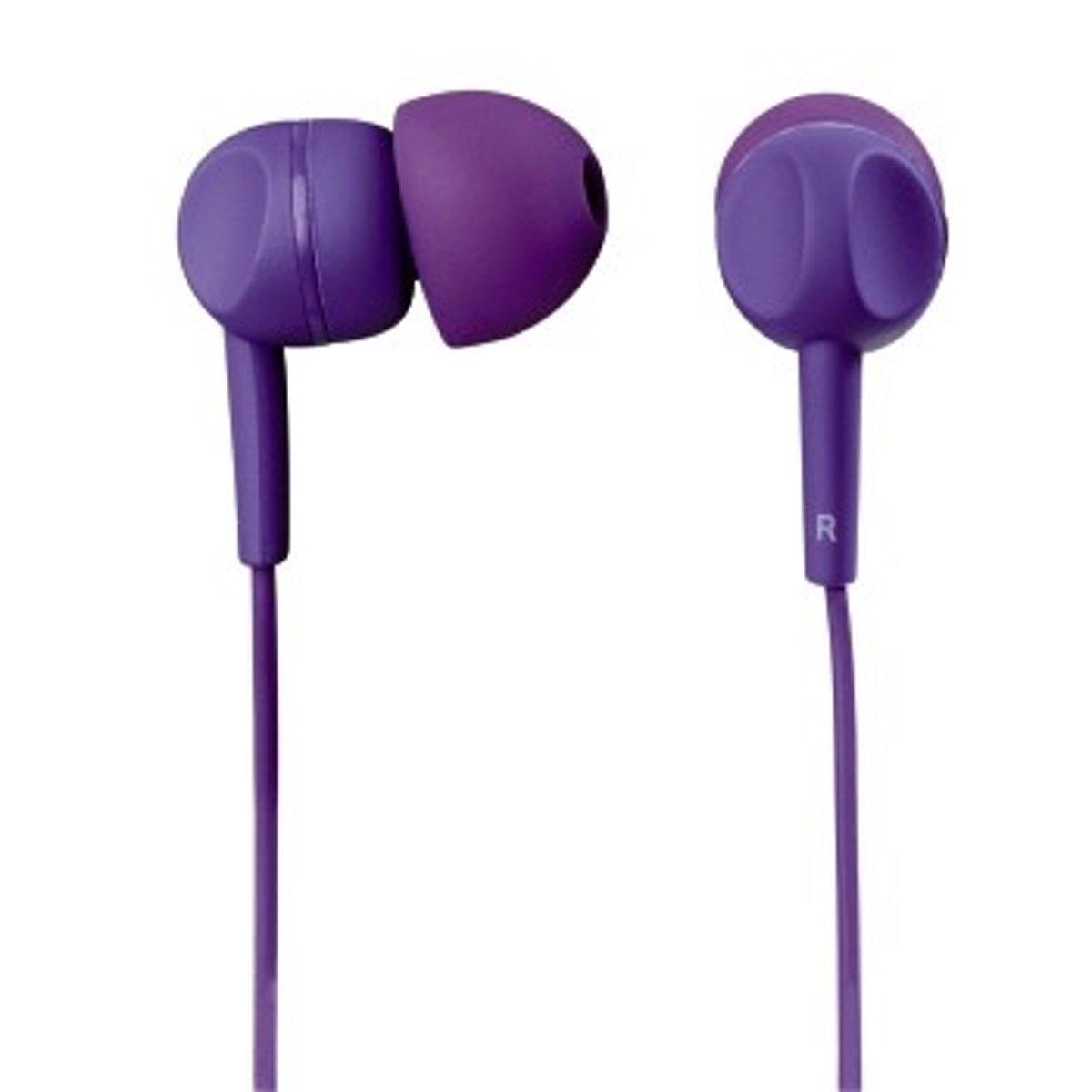 Hama EAR3005PL In-ear Stereofonisch Bedraad Paars mobiele hoofdtelefoon kopen