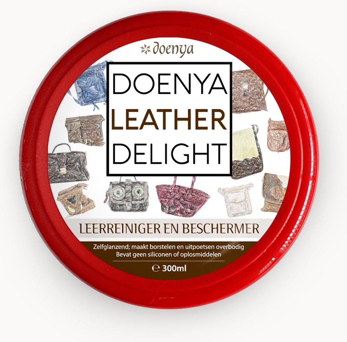 Doenya Leather Delight - LEDERREINIGER EN BESCHERMER (300ml) kopen