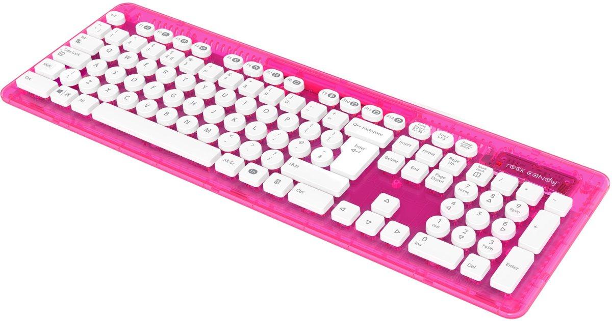 Rock Candy - Draadloos Toetsenbord - Qwerty - PC + MAC