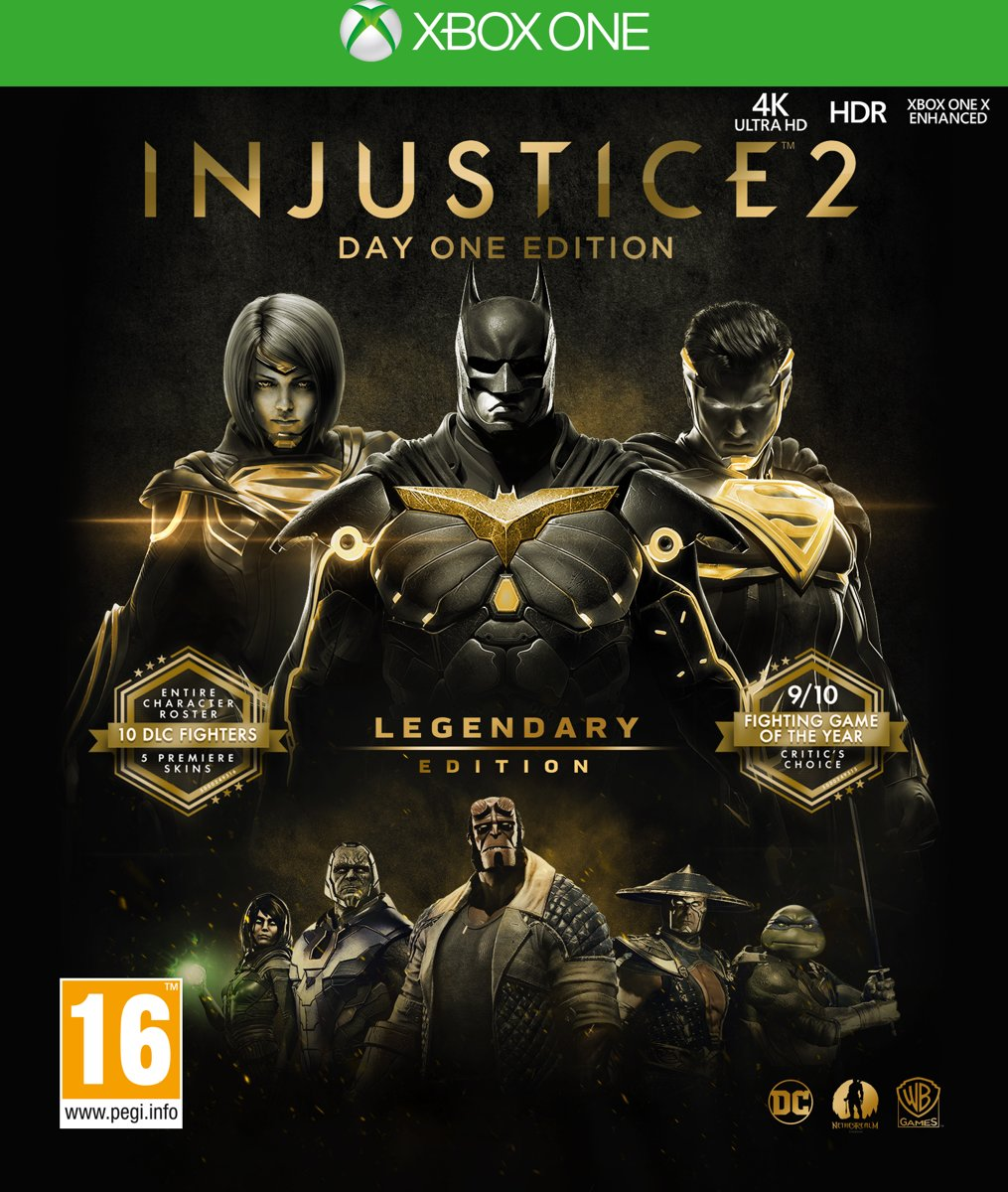Injustice 2 - Legendary Edition (Day One Edition) Xbox One
