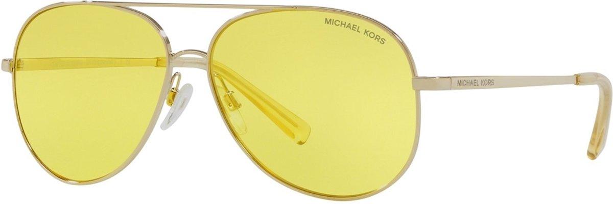 Michael Kors Kendall Shiny Light Gold-coloured Zonnebril  - kopen