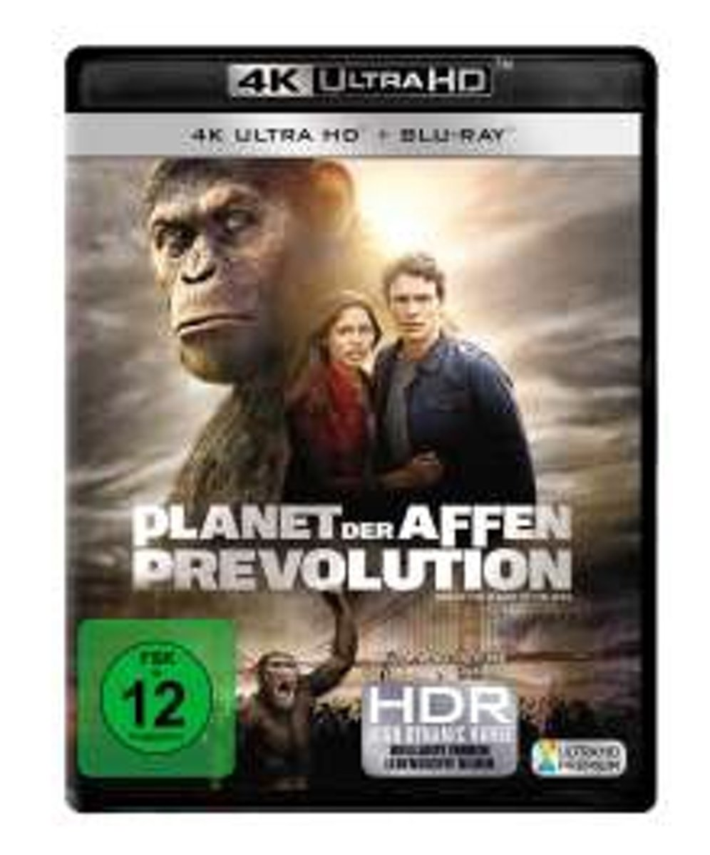 Rise Of The Planet Of The Apes (2011) (Ultra HD Blu-ray & Blu-ray)-