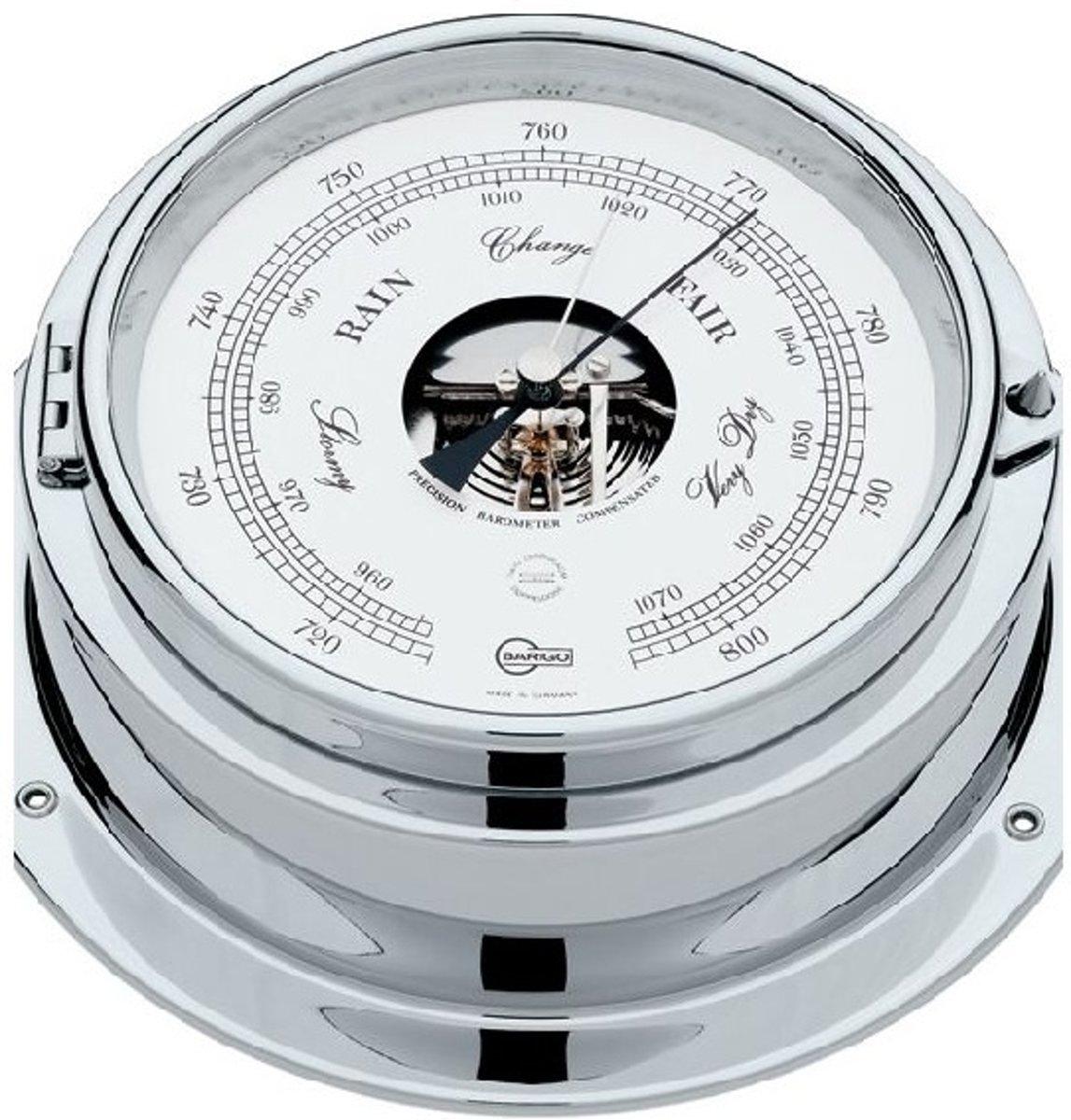 Barigo Marine Bullaugen-Schiffsbarometer, Doppeldose 1613CR kopen